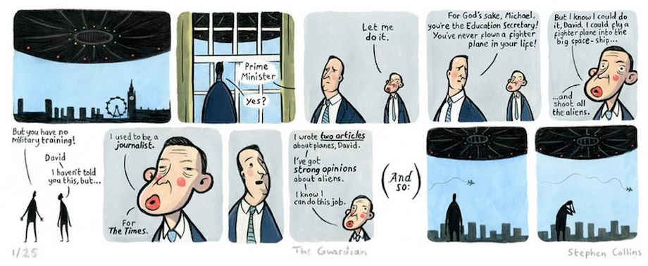 The best cartoon about Michael Gove